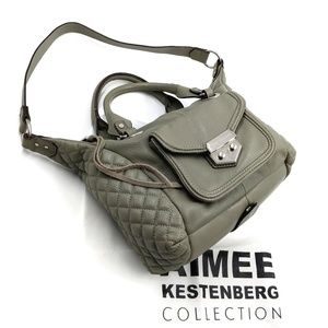 Aimee Kestenberg Quilted Leather Crossbody Bag